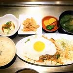 よしもと - 豚キムチ定食 ¥750