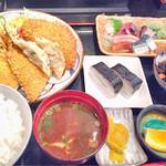 奈賀良 - 料理写真:日替わりランチ(840円)