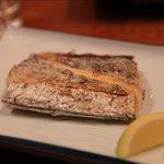 平家 - 太刀魚の焼き物は適度な塩加減でした