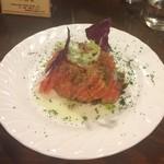 麻布食堂 - トマトサラダがこんなに美味しいなんて(^o^)