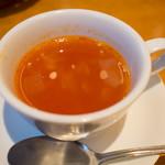 アマポーラ - セットのスープ