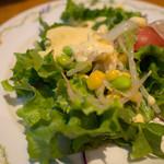 アマポーラ - セットのサラダ