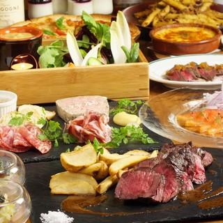 各種宴会/二次会◎名物の肉料理コミ2.5時間飲み放題付コース