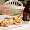 たこやき西海 - 料理写真:チキンボーにはビールが必要ですよねぇ
