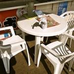 たこやき西海 - テーブル席①