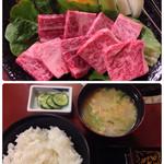 和風創作料理だいご - 焼肉定食 1700円