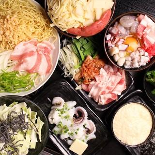 コース料理+飲み放題3000円~の宴会メニュー