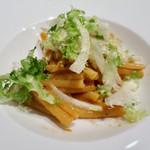 57986710 - 魚介類と百合根のリボルネーゼ カサレッチェ ゆず風味