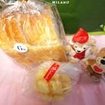 57986923 - 食パン 280円 メロンパン 170円