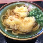 モテナス - とり天うどん(*´д`*)530円