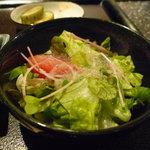 ステーキ  いぐち - ☆軽いサラダ仕立ても食べやすいお味です◎☆