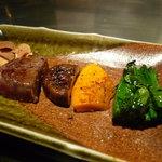ステーキ  いぐち - ☆『ステーキいぐち』さん…和牛フィレステーキ&お野菜(≧▽≦)/~♡☆
