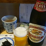 丸一 - ビール(500円)