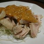 福盈門 - 蒸し鶏の葱生姜風味