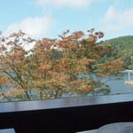 ベーカリーアンドテーブル箱根 - 席からの眺め