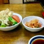 食道園 - 生野菜&キムチ