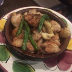 57996620 - 【鶏肉のガーリックシェリービネガー風味】(850円税込)