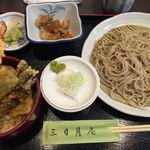 そば処 三日月庵 - 蕎麦と天丼