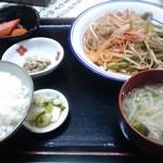 57997338 - ホルモン炒め定食