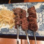 おぐら - レバー串焼き