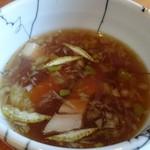 57998438 - つけ汁、スープ割もあり