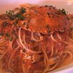ヴィン・サント - 渡り蟹のスパゲッティ・トマトソース