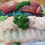 魚がし福ちゃん - 平目の刺身
