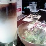 リエッタ ネロ - ランチのサラダ