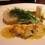 ブラッセリー マセナ - メイン 白身魚のグラティネソース