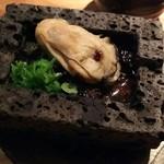 58000543 - (2016年10月 訪問)カキ焼き味噌で、430円。溶岩で出来た器で提供。赤味噌がぐつぐつしてました。クルミの食感も楽しい。