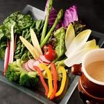 一眞 - 健康野菜のバーニャカウダー