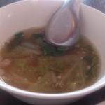 58004029 - ・鶏スープ 少ない