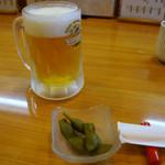 58004771 - ビールを頼むと枝豆が付いてきました