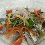 biaho-rubiyakera-toukyou - サンマのカルパッチョ。