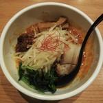 """美杏 - 料理写真:""""汁なし担々麺"""" 780円(税込)。大盛りは有りません。"""