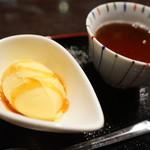 かまだ茶寮 円山 - かぼちゃアイス