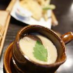 かまだ茶寮 円山 - 茶碗蒸し