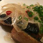 魚眞 - サンマの南蛮漬け。