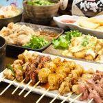 炭火焼鳥八金亭 - コース料理もあります!