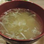 ふくい軒 - お味噌汁