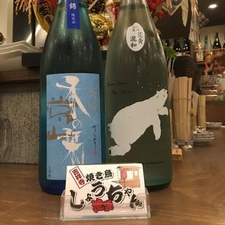種類豊富なドリンクメニュー♪全国から仕入れた日本酒が自慢◎