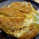 どんや - カツ丼納豆(並)490円
