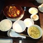 58012267 - 麻婆豆腐ランチ全景