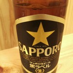 大島酒場 - 大瓶ビール550円