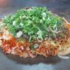 瀬尾お好み焼 - 料理写真:そば肉玉入り