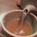 七福 志な乃 - 蕎麦湯はサラサラタイプ