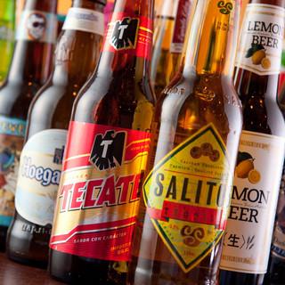 50種類のボトルビール!!