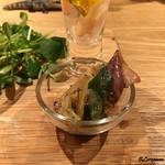 origo - 蛍烏賊と九条葱のヌタ和え