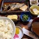 びんび - 煮魚定食(750円)(2016.10現在)