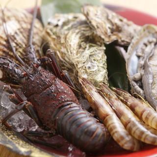 新鮮魚介を贅沢に!